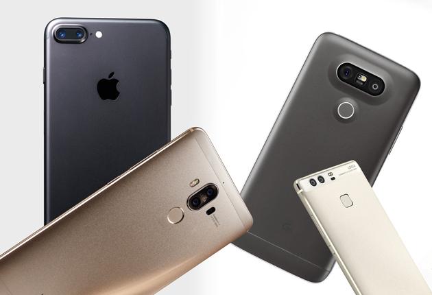 Smartfony - podwójna kamera