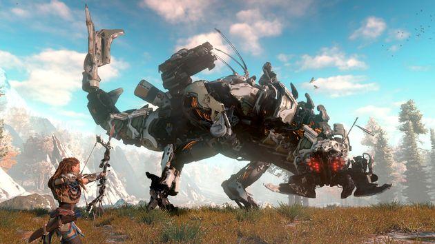 Najgorętsze premiery gier - roboty w Horizon Zero Dawn