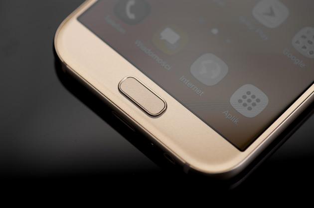 Samsung Galaxy A5 2017 - czytnik linii papilarnych