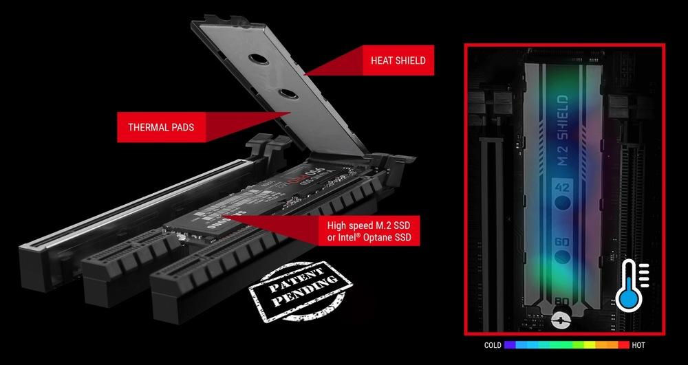 MSI Z270 Gaming M5 - M.2 Shield