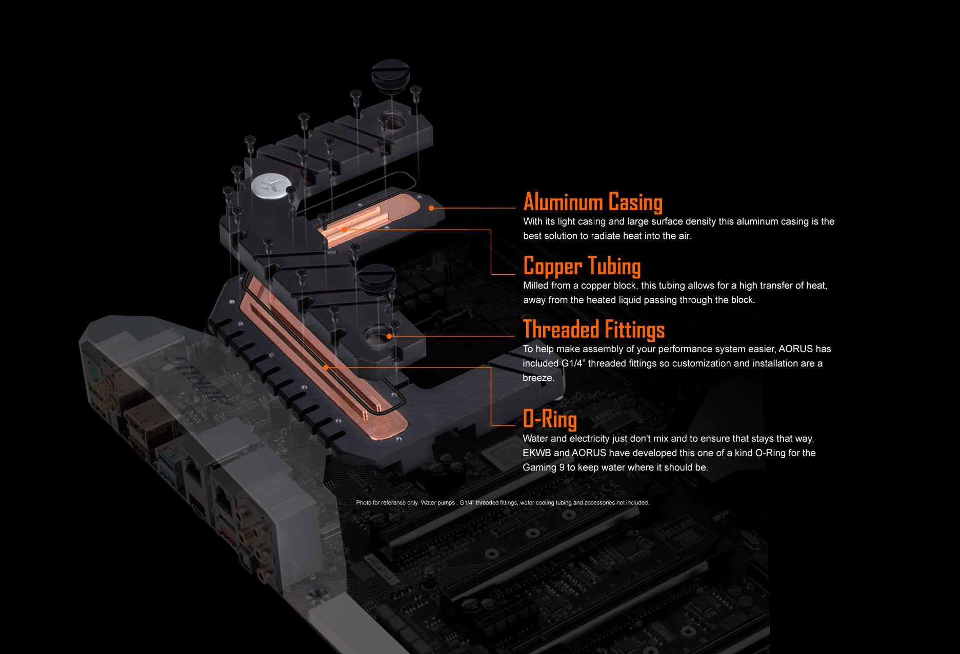 Gigabyte Aorus GA-Z270X-Gaming 9 - G-Frost Hybrid Water Block