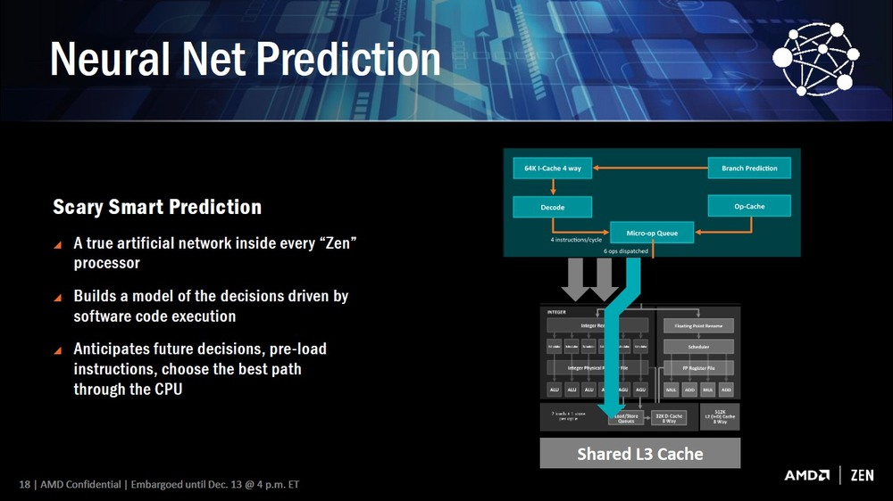 AMD SenseMI - Neural Net Prediction