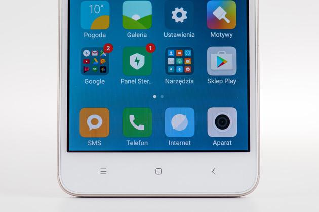 Xiaomi Redmi 4A - wyświetlacz
