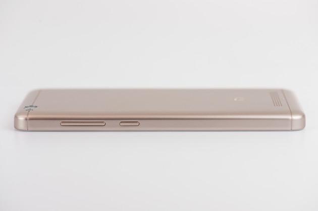 Xiaomi Redmi 4A - przyciski na obudowie