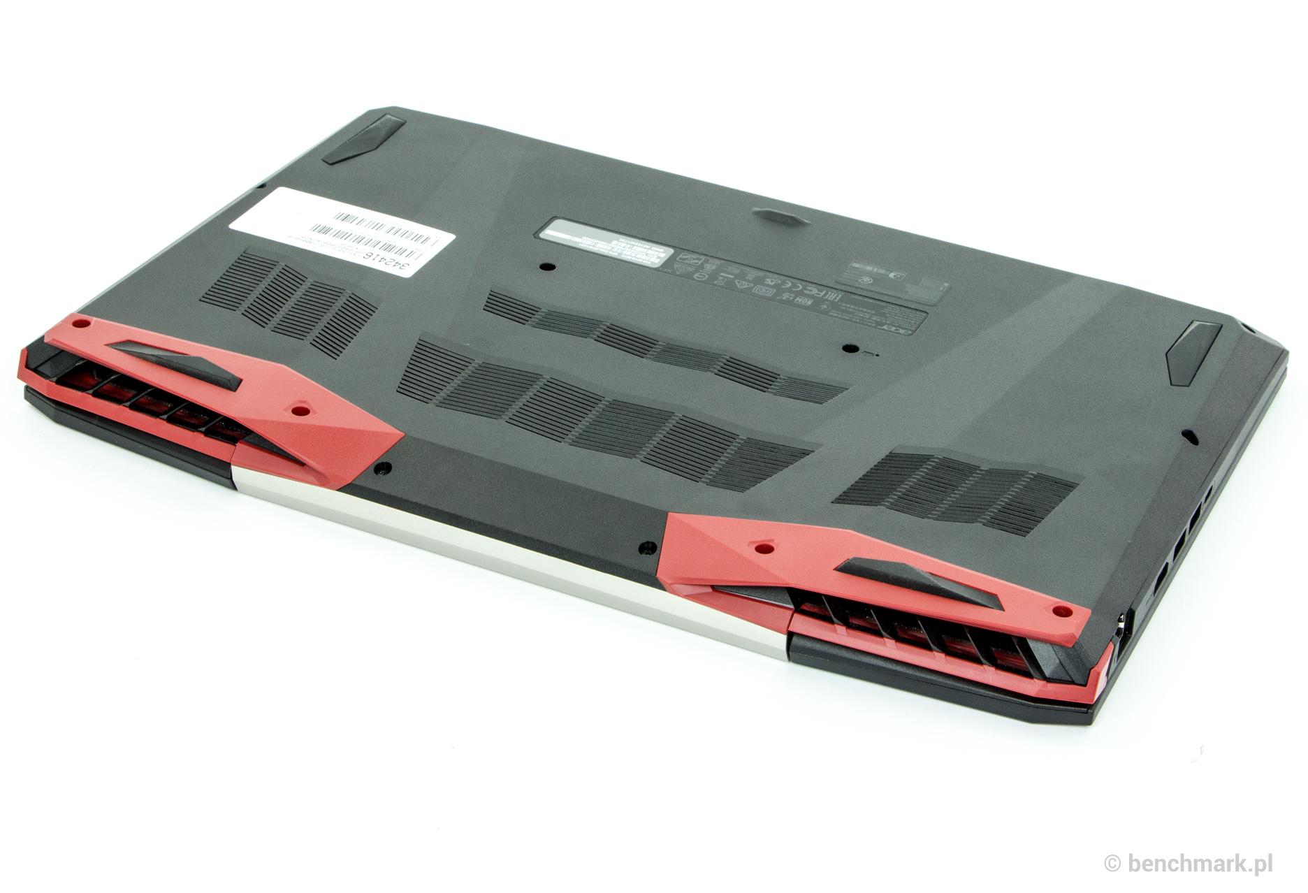 Acer Aspire VX 15 spód