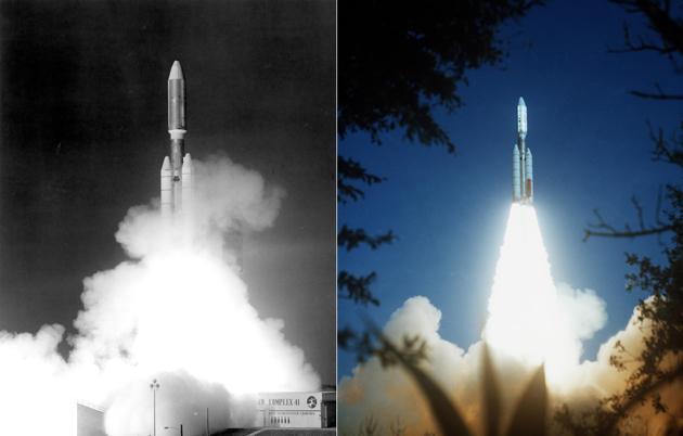Voyager I II start 1977