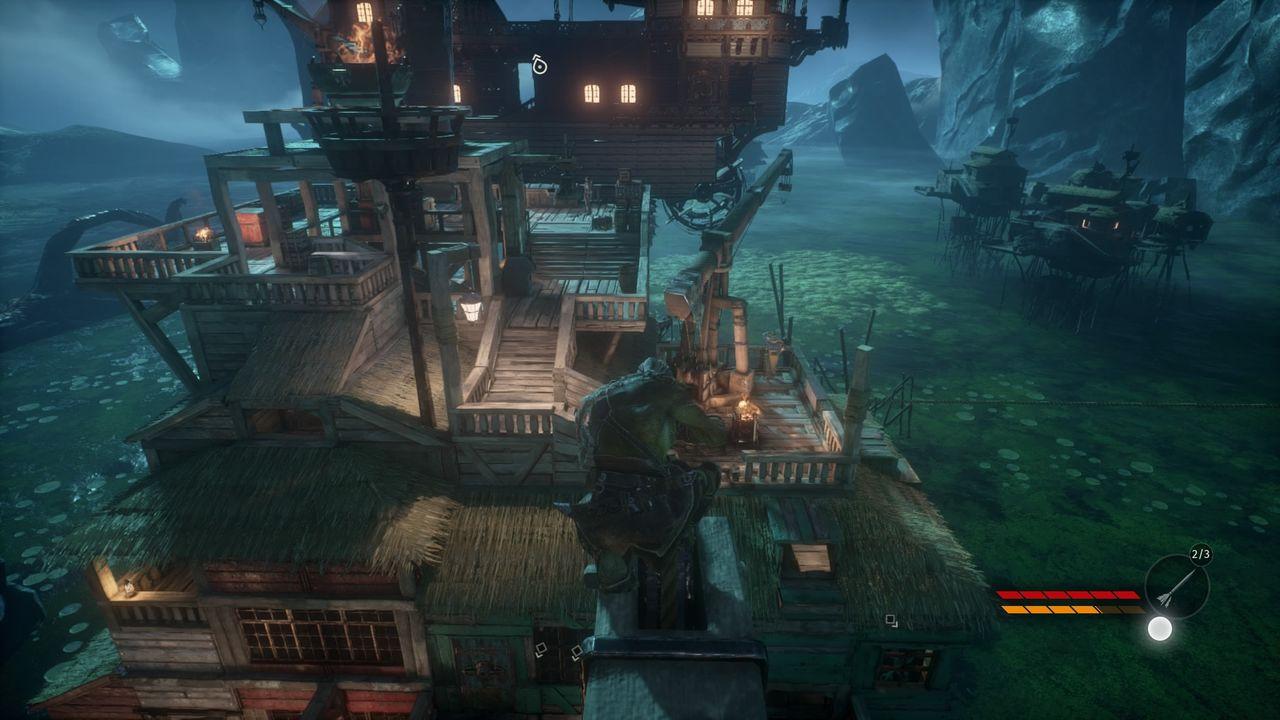 Styx: Shards of Darkness - miasteczko portowe Thoben