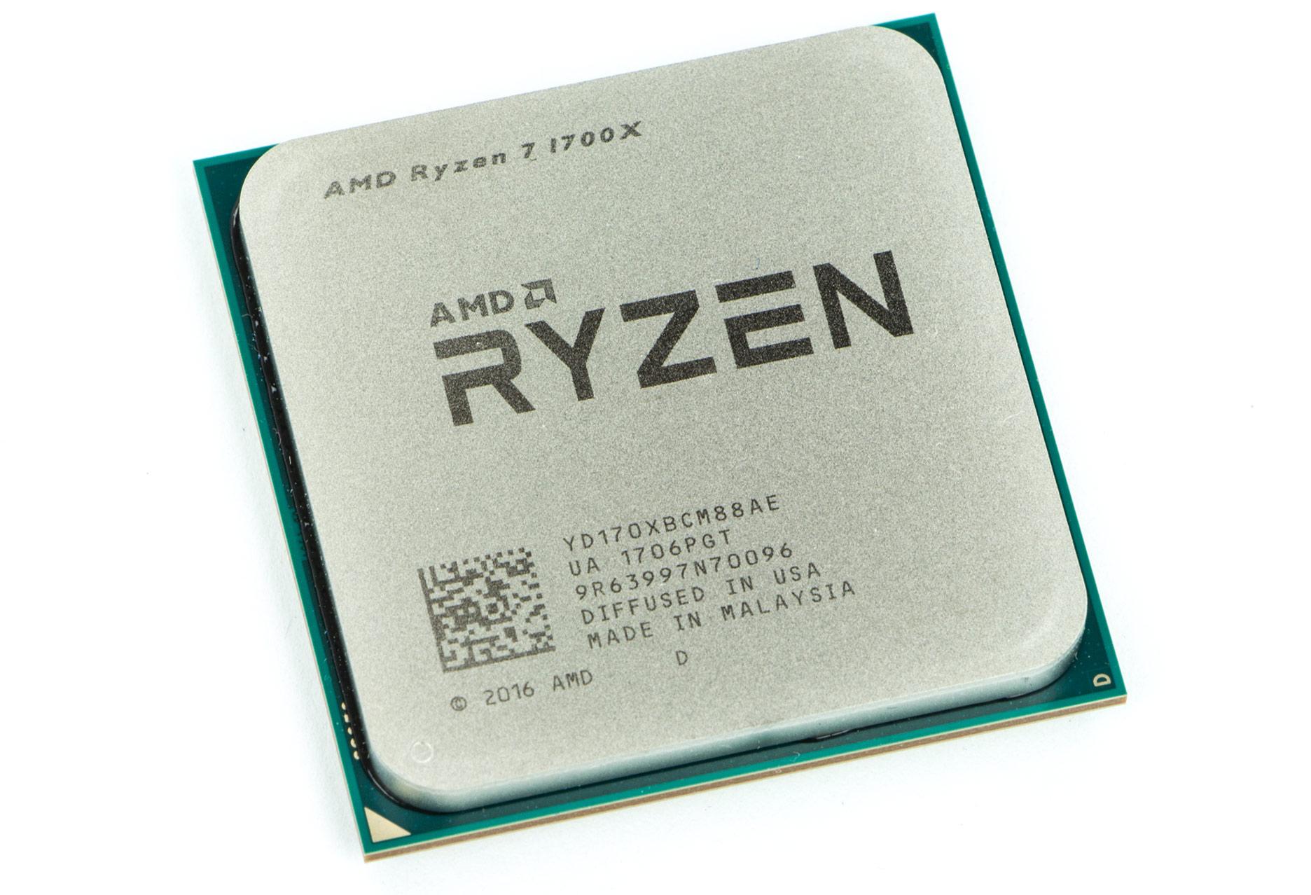 AMD Ryzen 7 1700X procesor