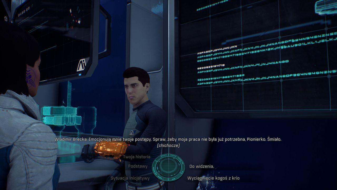 Mass Effect: Andromeda - słabe modele postaci