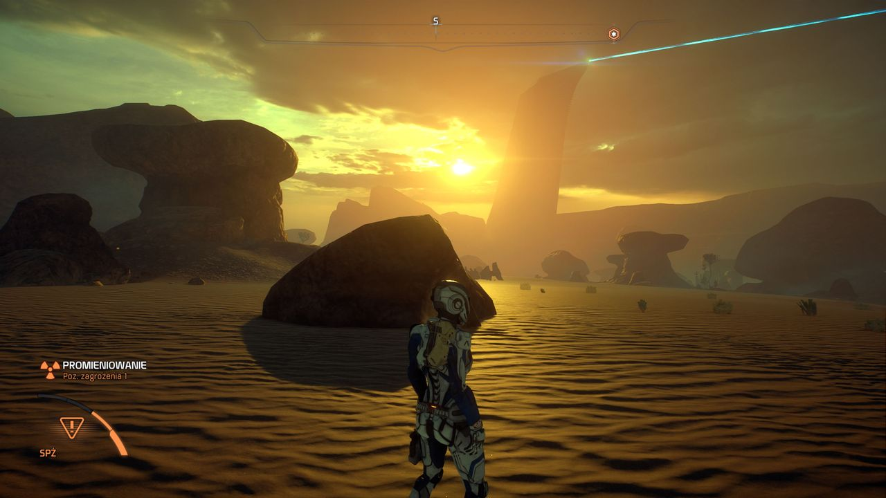 Mass Effect: Andromeda - pustynna planeta EOS