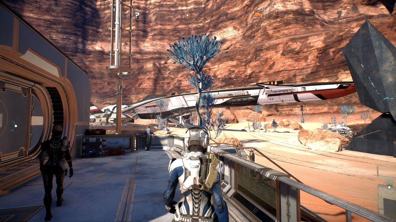 Mass Effect: Andromeda - placówka na EOS