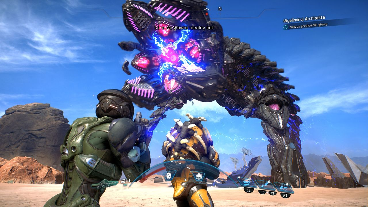 Mass Effect: Andromeda - walka z Architektem