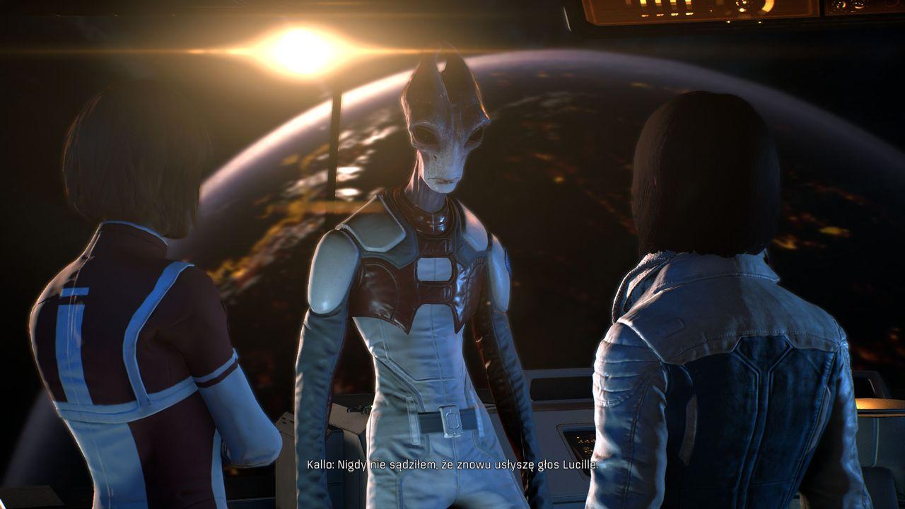 Mass Effect: Andromeda - rozmowa z pilotami Tempesta