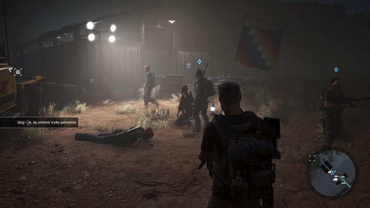 Ghost Recon: Wildlands - obóz rebeliantów