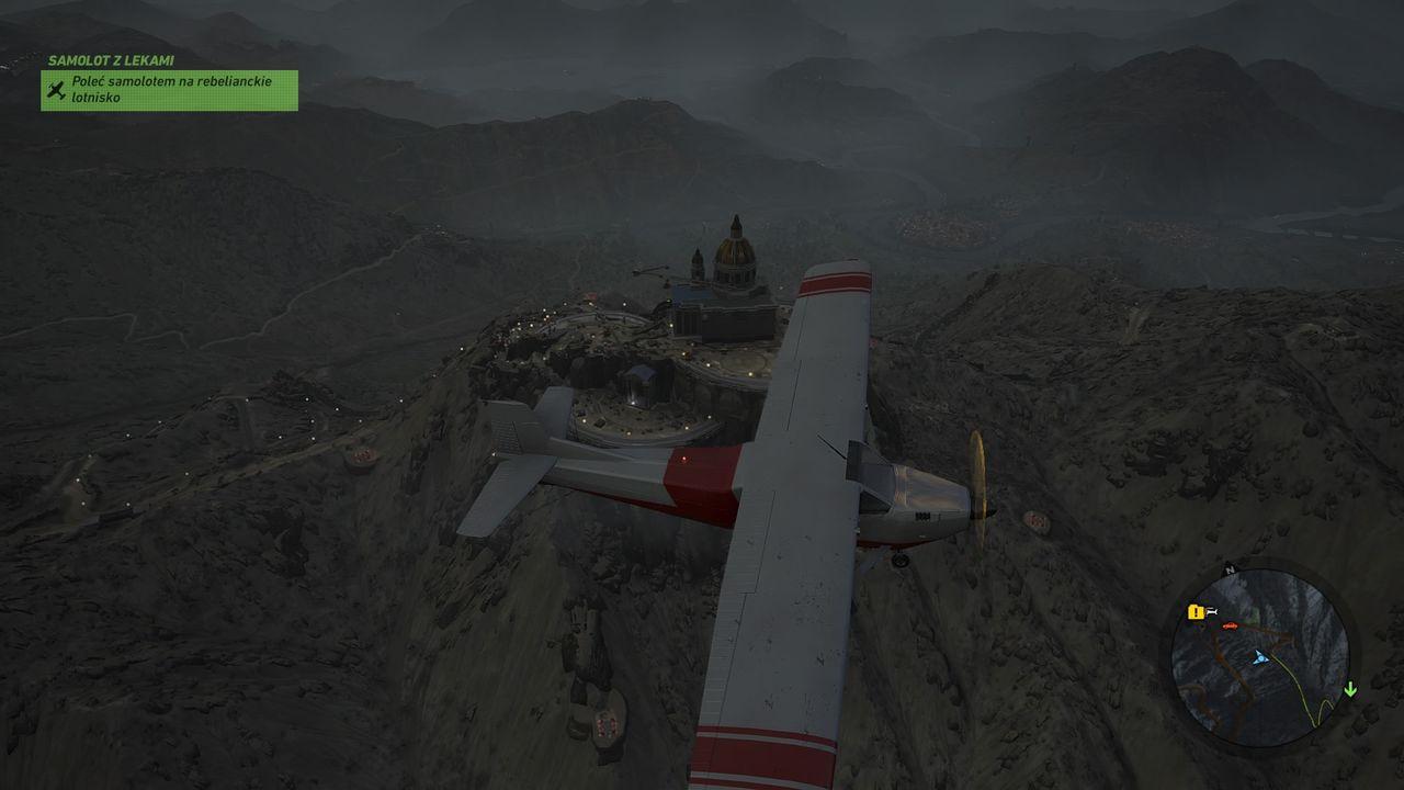 Ghost Recon: Wildlands - przejęcie samolotu dla rebeliantów