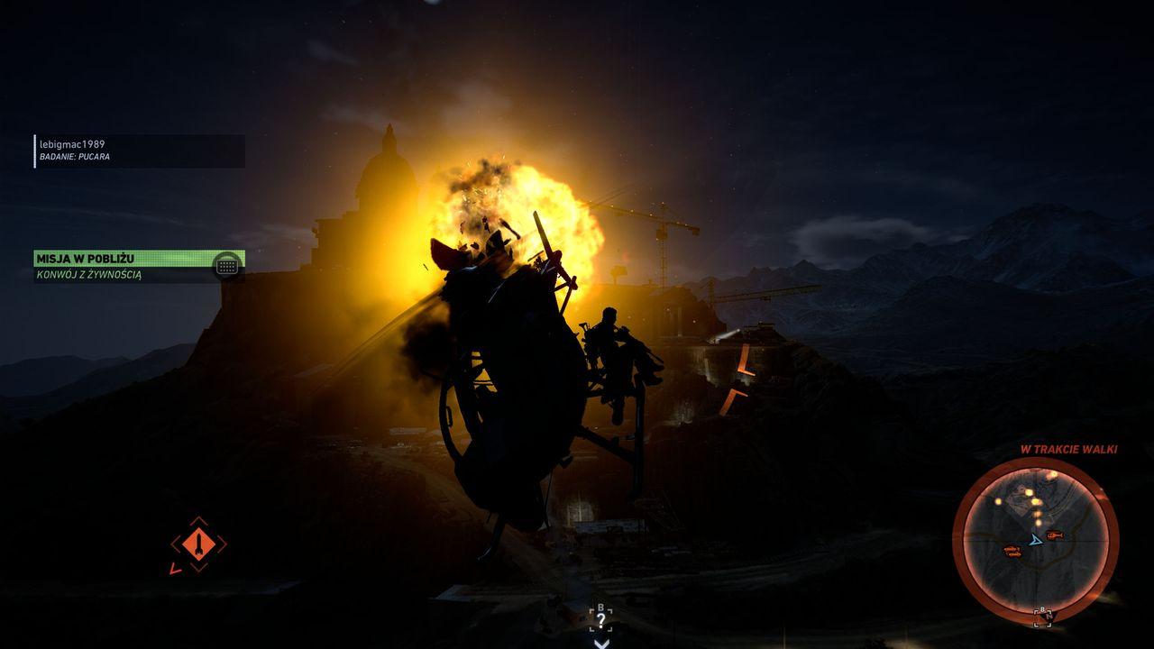 Ghost Recon: Wildlands - ucieczka przed rakietami