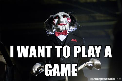 saw i want to play a game