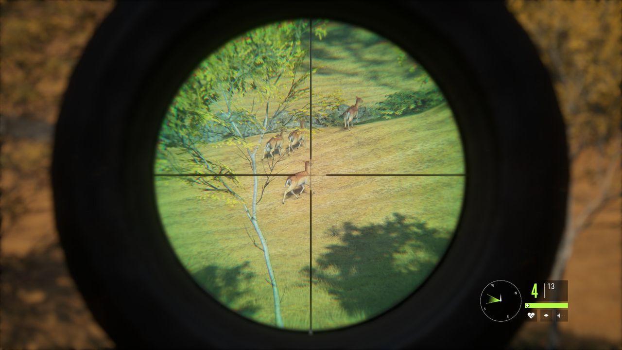 theHunter: Call of the Wild - obserwacja przez lunetę