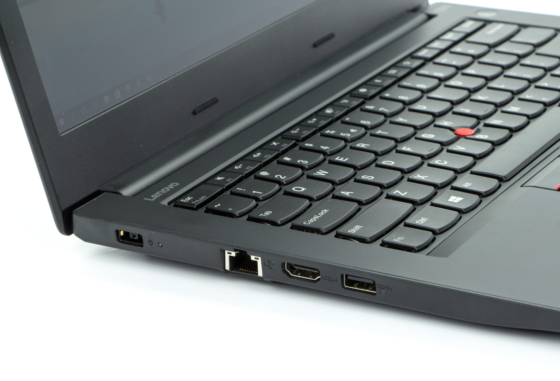 Lenovo ThinkPad E470 lewy bok