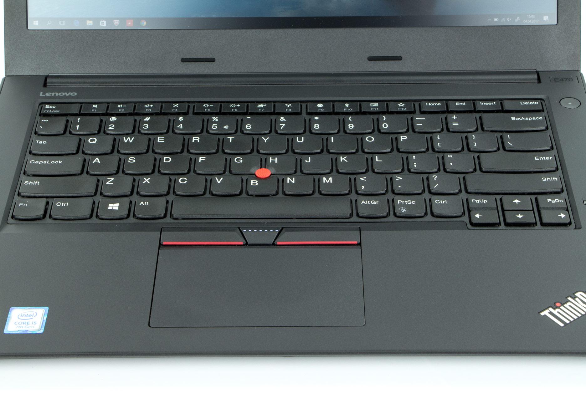 Lenovo ThinkPad E470 panel roboczy