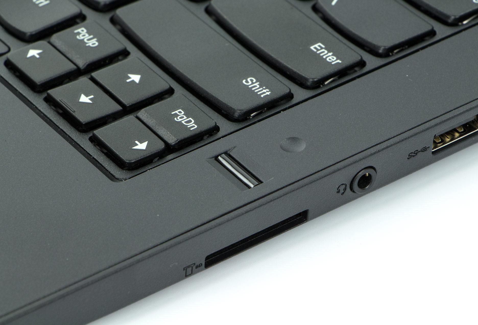 Lenovo ThinkPad E470 czytnik linii papilarnych