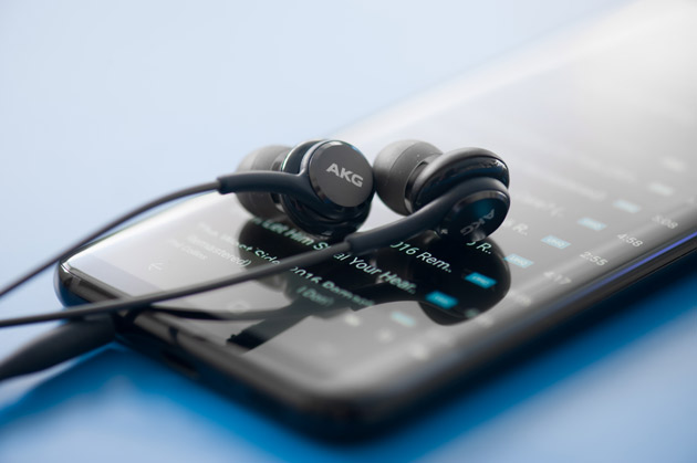 Galaxy S8+ słuchawki AKG