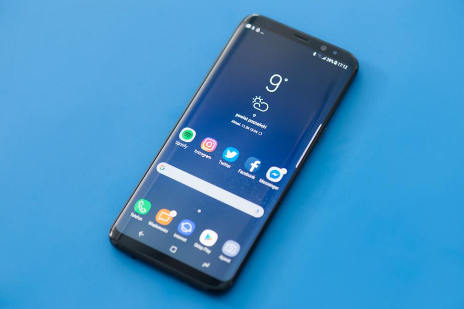 Galaxy S8+ wyświetlacz z cienkimi ramkami