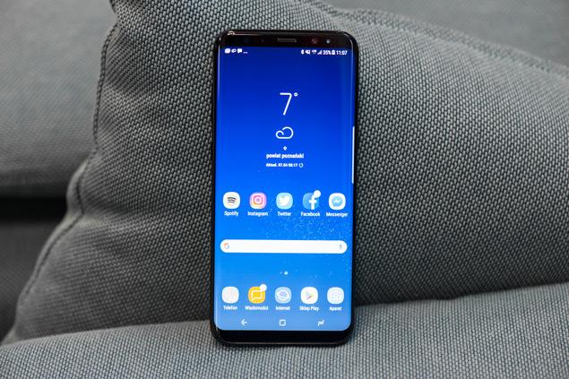 Samsung Galaxy S8+ wyświetlacz