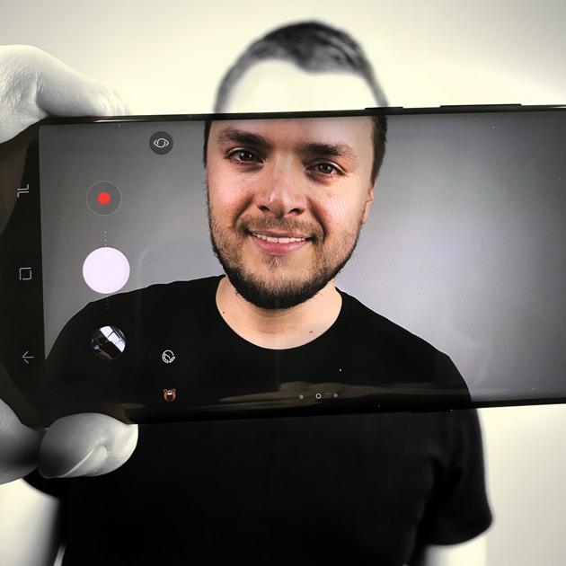 Galaxy S8+ aparat