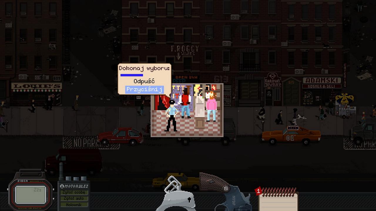 Beat Cop - podejmowanie decyzji