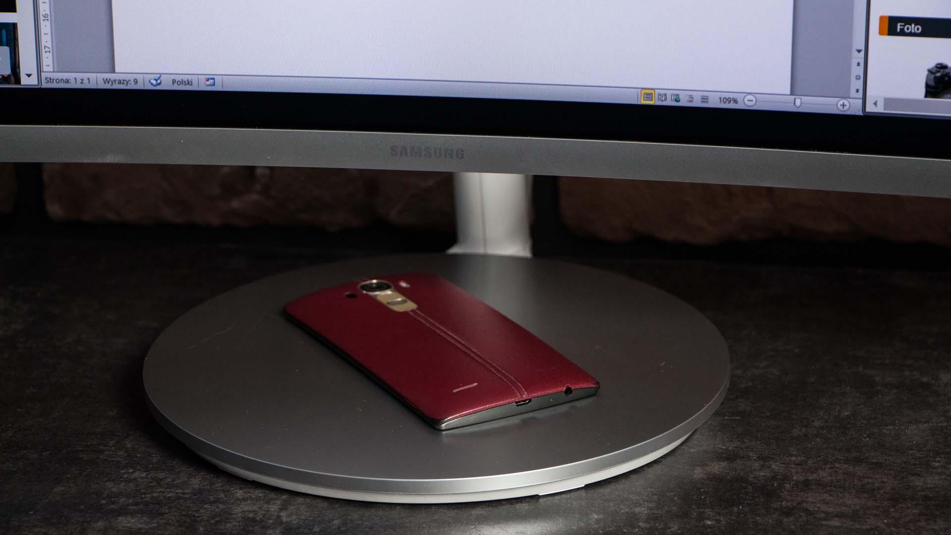 Samsung Curved C34F791 podstawka