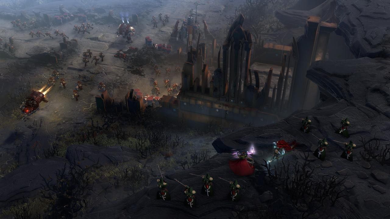 Dawn of War III - eldarowie, kosmiczni marines i orkowie