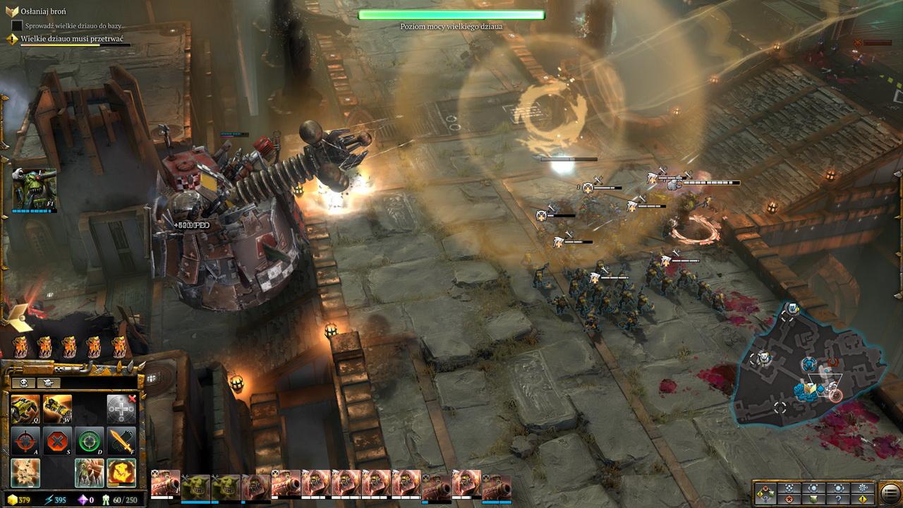Dawn of War III - kosmiczny odrzut wielkiego działa