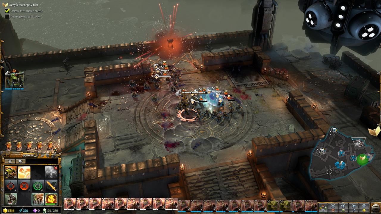 Dawn of War III - orkowie w szale bitewnym