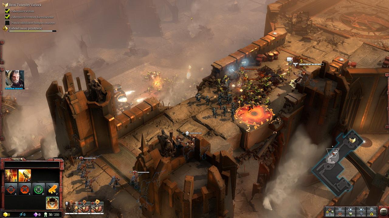 Dawn of War III - walki na murach