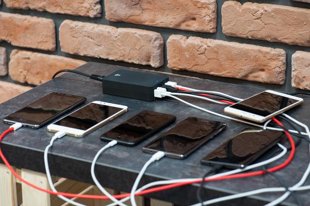 Accura Accucharge Monster - ładowarka USB dla 6 urządzeń