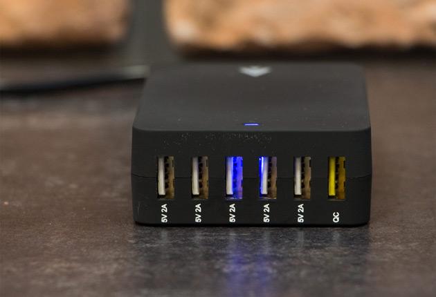 Accura Accucharge Monster - ładowarka USB dla 6 smartfonów