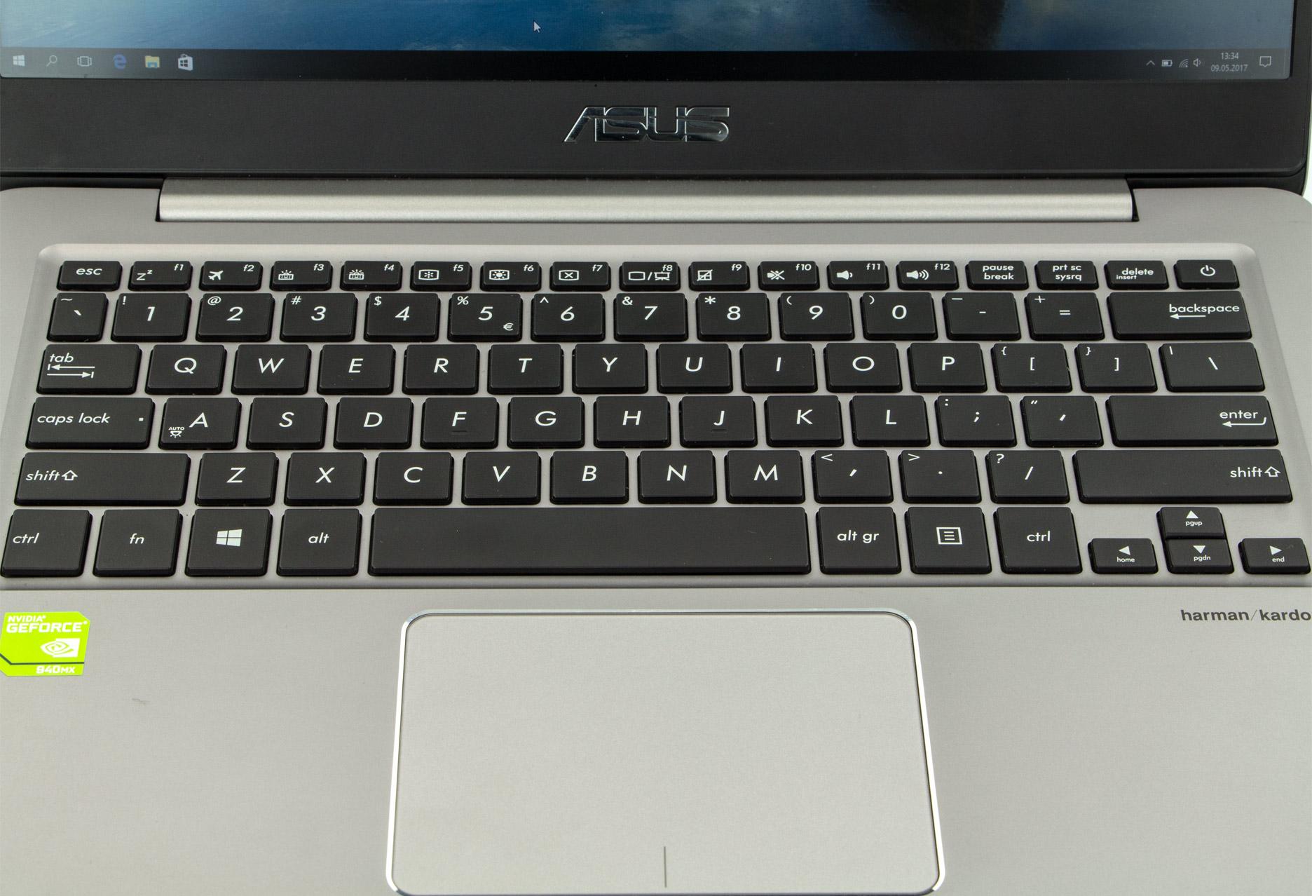 Asus Zenbook UX410UQ-GV031T klawiatura