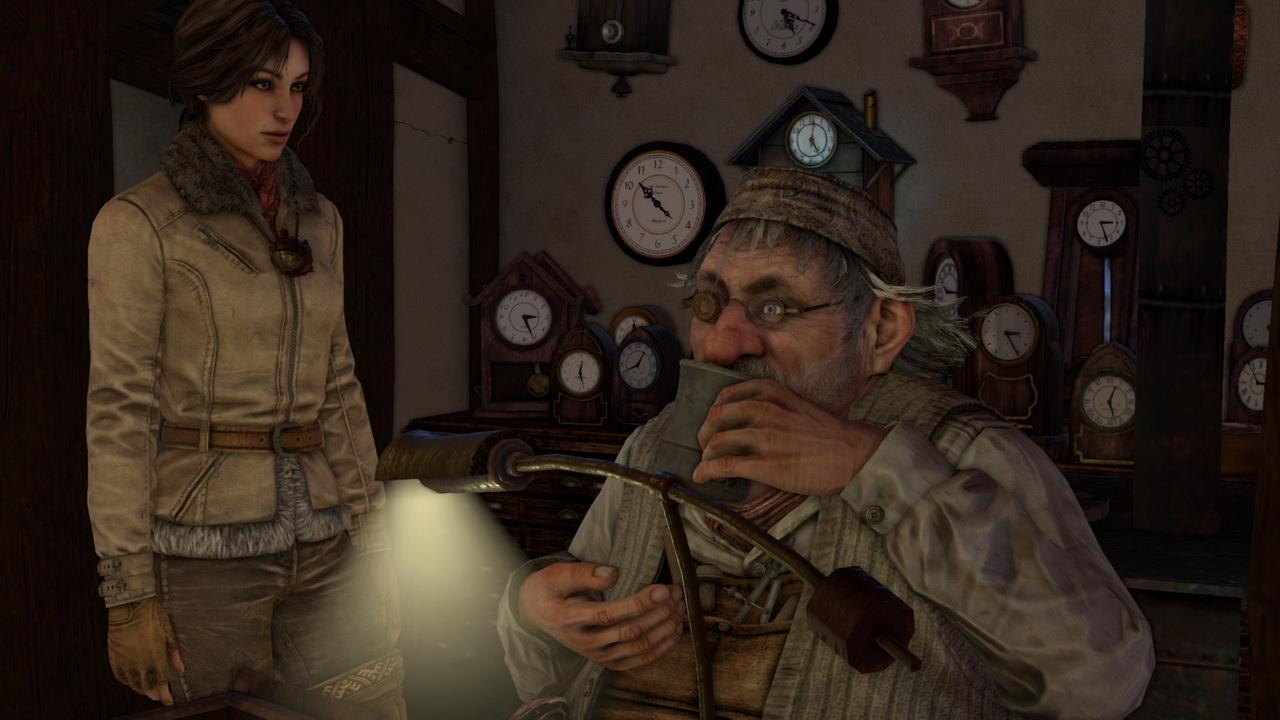 Syberia 3 - zegarmistrz Steiner