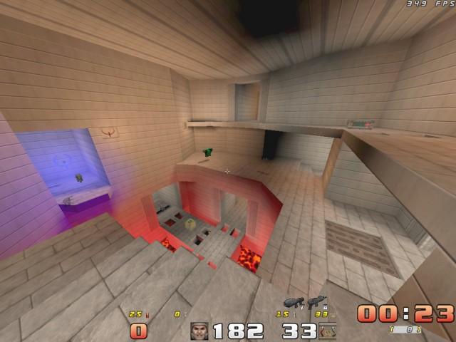 Klasyka duel - mapa DM4 - Quake I