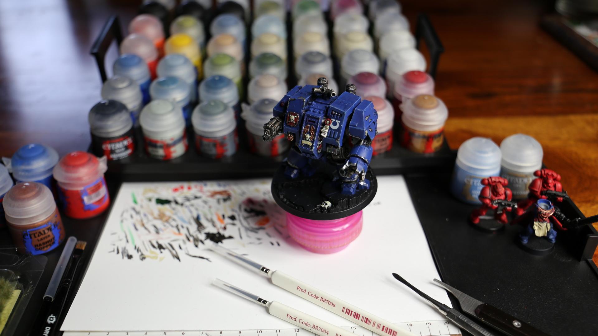 Dawn of War 3 - prawdziwe malowanie figurek