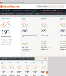 Pogoda Accuweather Platinium