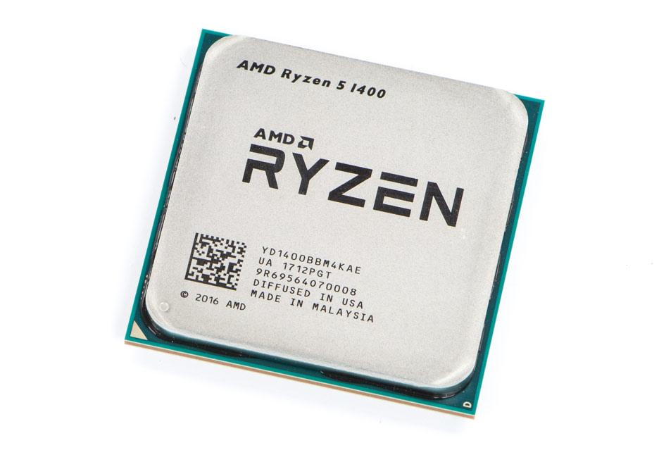 AMD Ryzen 5 1400 procesor