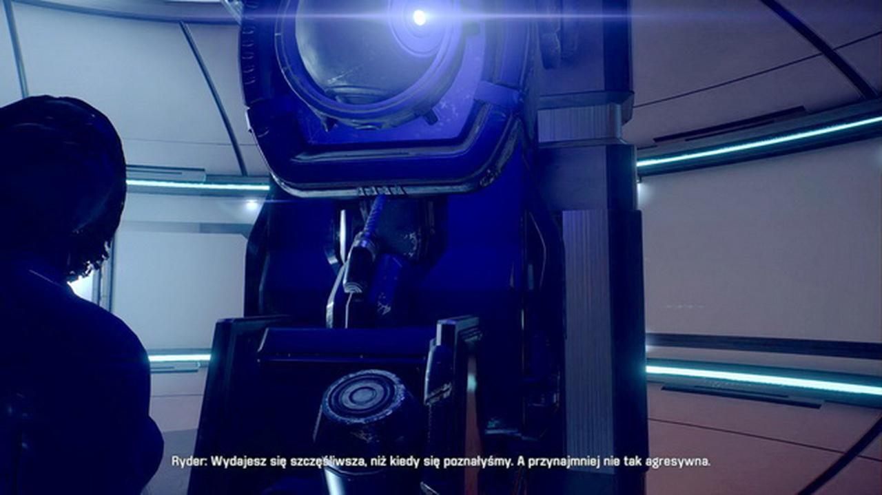 Mass Effect Andromeda - kosmiczny obrót głowy