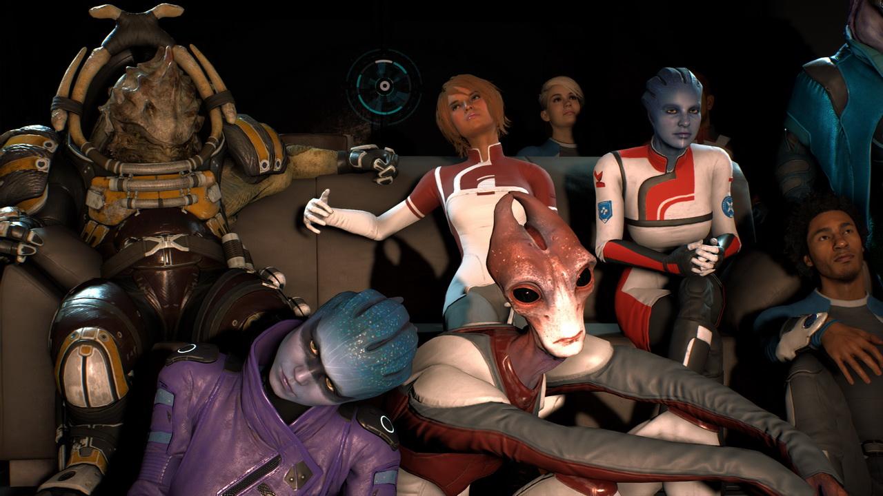Mass Effect Andromeda - błąd podczas wieczoru filmowego