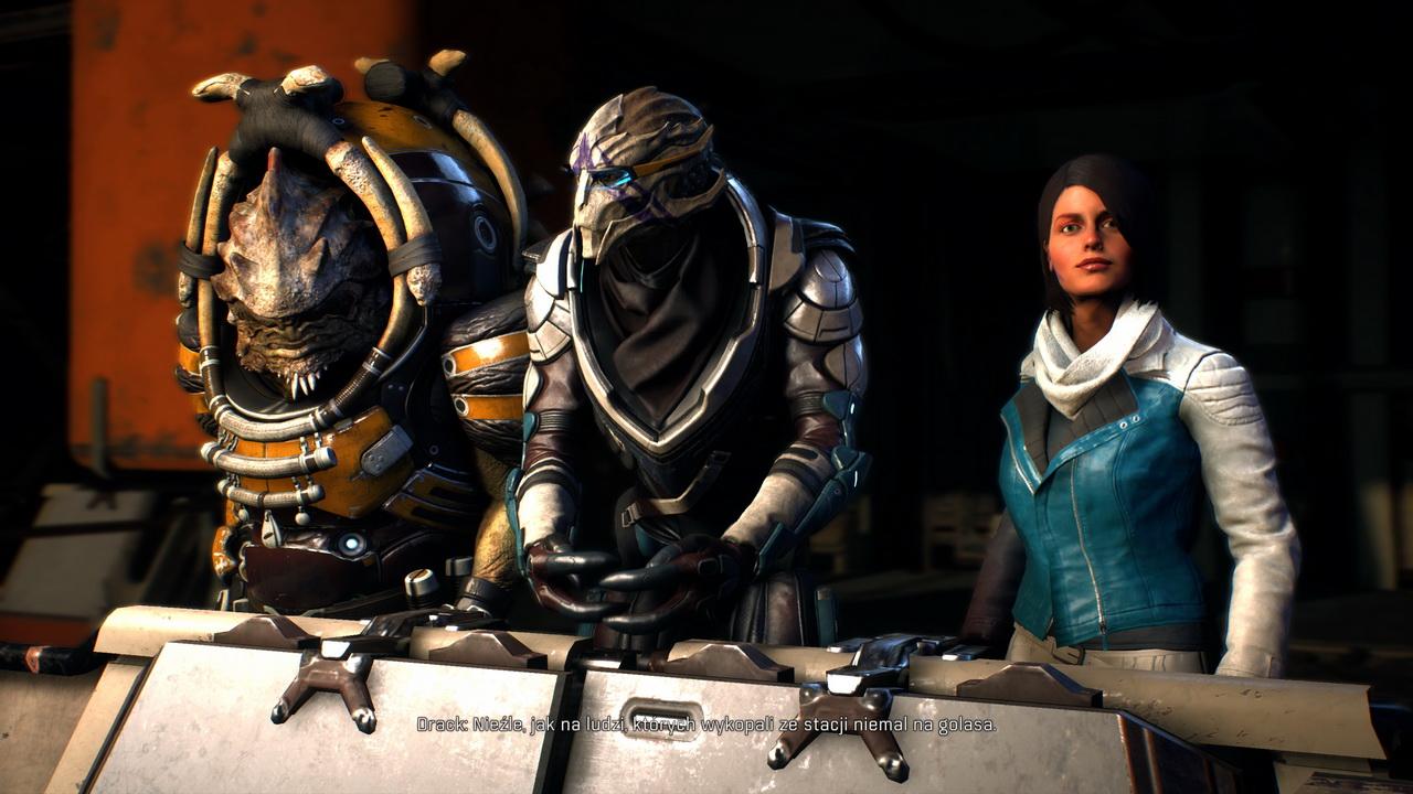 Mass Effect Andromeda - rozmowa z kompanami