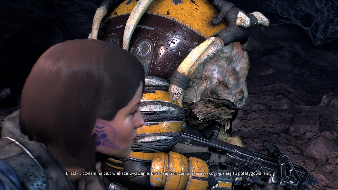 Mass Effect Andromeda - rozmowa z Draxem