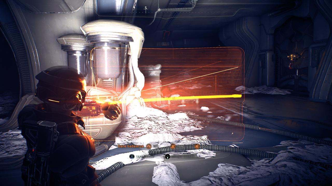 Mass Effect Andromeda - skanowanie