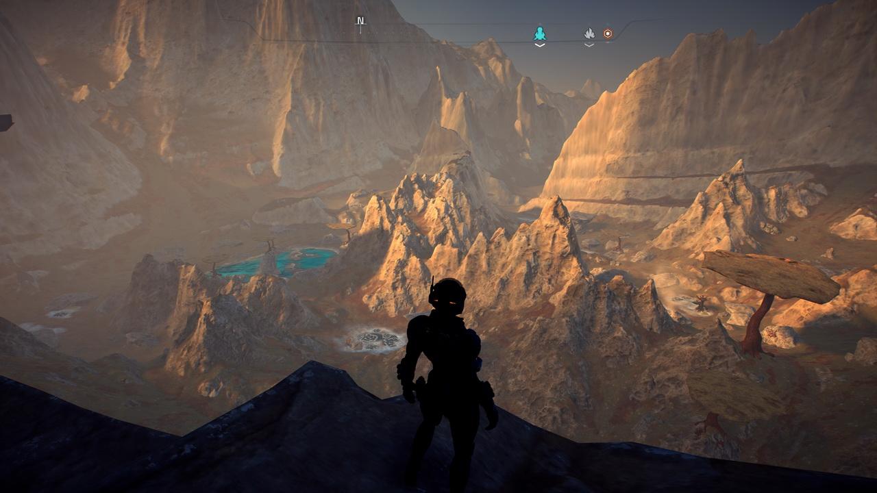 Mass Effect Andromeda - niezła sceneria