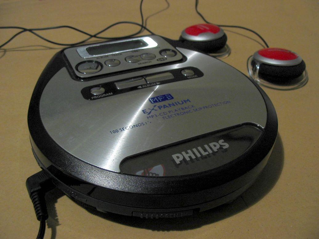 Philips Expanium - przenośny odtwarzacz CD